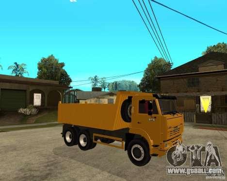 KAMAZ 6520 TAI for GTA San Andreas