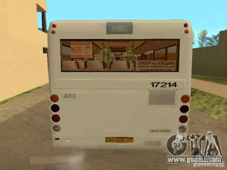 GROOVE 3237 for GTA San Andreas inner view