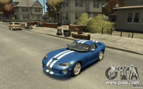 Dodge Viper GTS for GTA 4