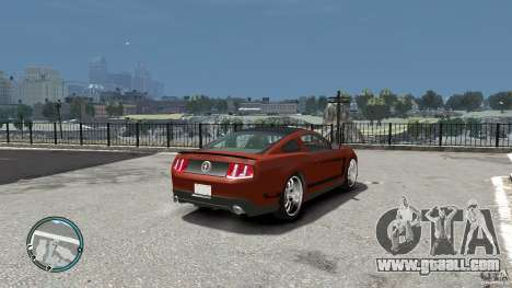 Ford Mustang Boss 302 2012 for GTA 4 right view
