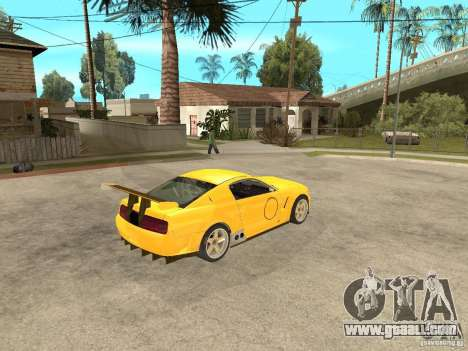 Ford Mustang GT-R for GTA San Andreas right view