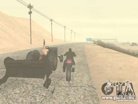 Cars with trailers for GTA San Andreas sixth screenshot