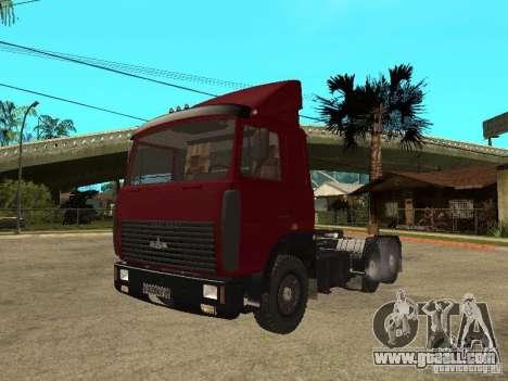 MAZ 642208 for GTA San Andreas