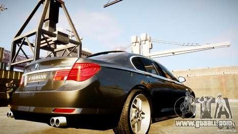 BMW 750Li (F02) Hamann 2010 v2.0 for GTA 4 side view