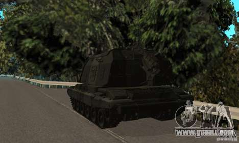 Msta-s 2s19, standard version for GTA San Andreas right view