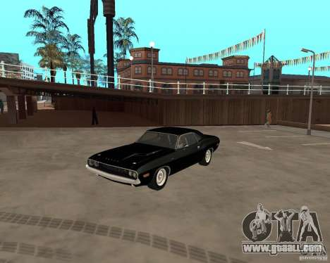 1970 Dodge Challenger R/T for GTA San Andreas