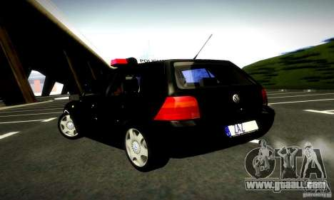 Volkswagen Golf Police for GTA San Andreas