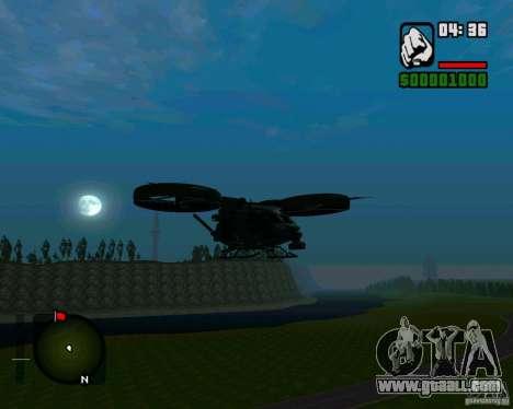 SA-2 Samson for GTA San Andreas left view