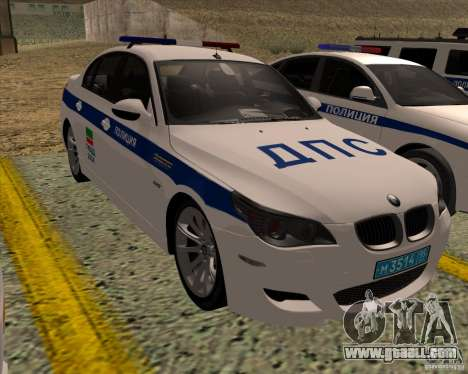 BMW M5 E60 DPS for GTA San Andreas