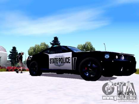 NFS Undercover Cop Car MUS for GTA San Andreas
