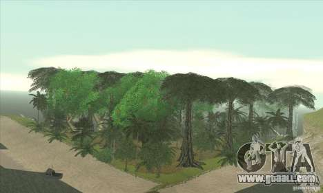 Tropical island for GTA San Andreas forth screenshot