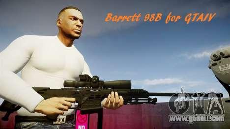 Barrett 98B (sniper) for GTA 4