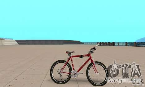 Chongs Mountain Bike for GTA San Andreas back left view