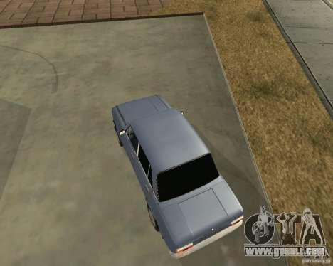 Kopeyka (corrected) for GTA San Andreas left view