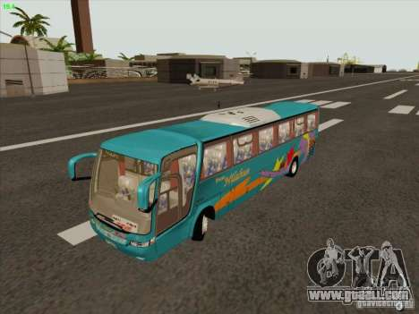 Mercedes-Benz Vissta Buss LO for GTA San Andreas inner view