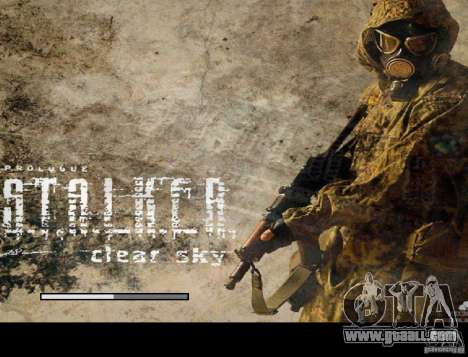 New boot screen STALKER for GTA San Andreas fifth screenshot