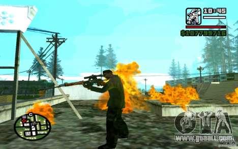 Dragunov sniper rifle v 1.0 for GTA San Andreas forth screenshot