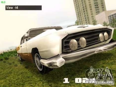 Camera Hack 2.9 for GTA Vice City forth screenshot