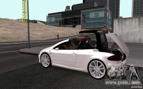 Peugeot 307CC BMS for GTA San Andreas left view
