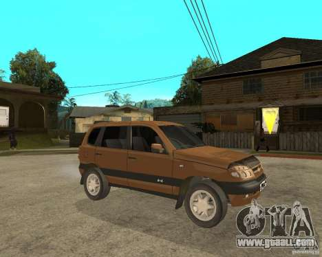 CHEVROLET NIVA Version 2.0 for GTA San Andreas right view