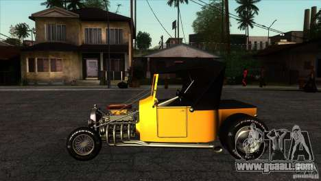 Ford T 1927 Hot Rod for GTA San Andreas left view