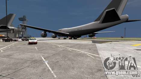 Lufthansa MOD for GTA 4 left view