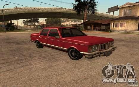 Regal 1987 San Andreas Stories for GTA San Andreas