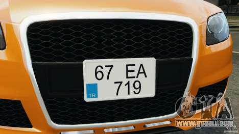 Audi RS4 EmreAKIN Edition for GTA 4 engine