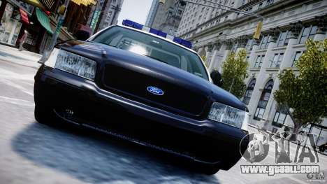 Ford Crown Victoria Massachusetts Police [ELS] for GTA 4 engine