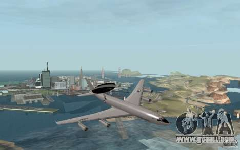 Boeing E-3 Sentry for GTA San Andreas right view
