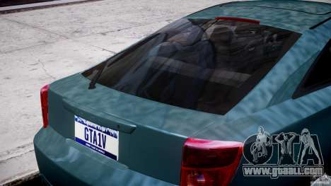 Toyota Celica Tuned 2001 v1.0 for GTA 4