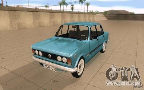 Fiat 125p for GTA San Andreas