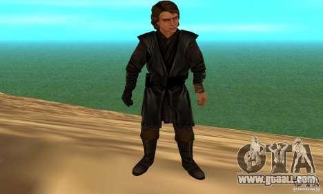 Anakin Skywalker for GTA San Andreas third screenshot
