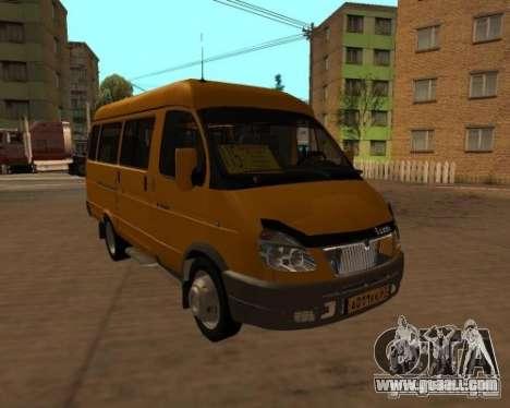 Gazelle 2705 taxi for GTA San Andreas