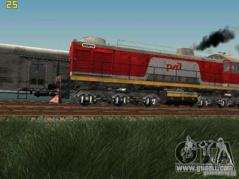 Tem2-6883 RZD for GTA San Andreas left view