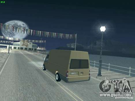 Ford Transit Jumbo 350L 2009 for GTA San Andreas left view