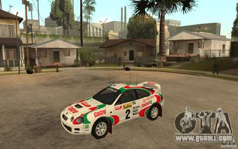 Toyota Celica GT4 DiRT for GTA San Andreas