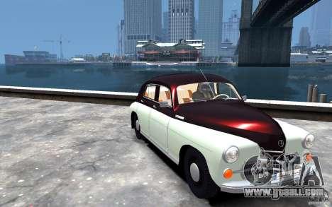 FSO Warszawa M20 201 for GTA 4 back view