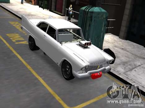 Plymouth Savoy 57 for GTA 4 wheels