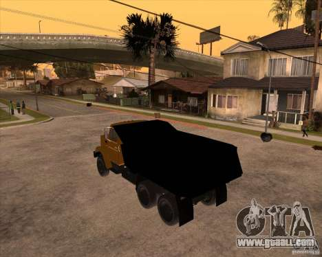 ZIL MMZ 4516 for GTA San Andreas left view