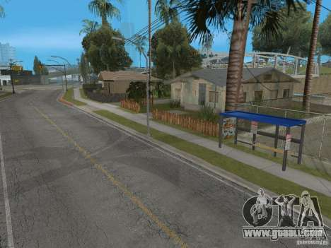 New bus stop for GTA San Andreas
