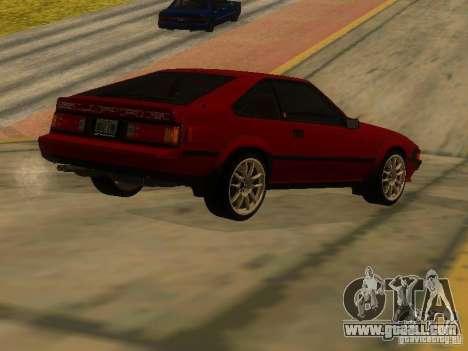 Toyota Celica Supra for GTA San Andreas right view