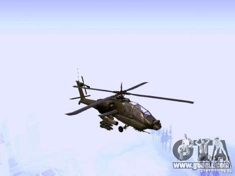 HD Hunter for GTA San Andreas back view