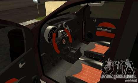 Fiat Novo Uno Sporting for GTA San Andreas back view