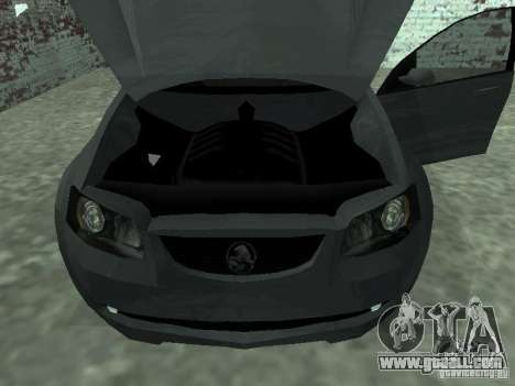 Holden Calais for GTA San Andreas right view