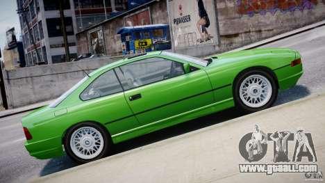 BMW 850i E31 1989-1994 for GTA 4 interior