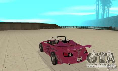 Honda S2000 The Fast and Furious for GTA San Andreas right view
