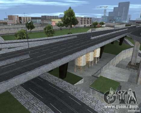 New roads for GTA San Andreas fifth screenshot