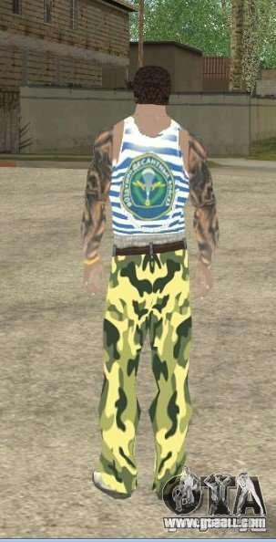 CJ VDV for GTA San Andreas forth screenshot