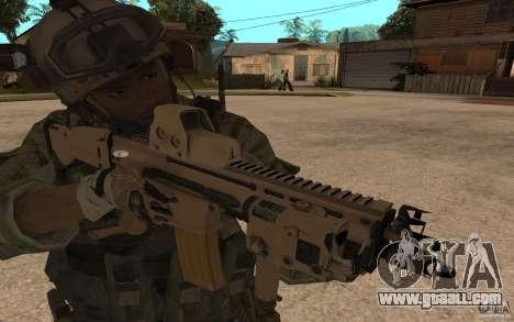 SCAR FN MK16 for GTA San Andreas
